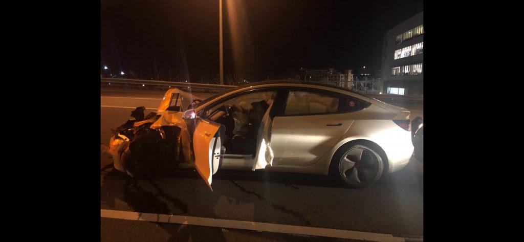 Accident Tesla Autopilot