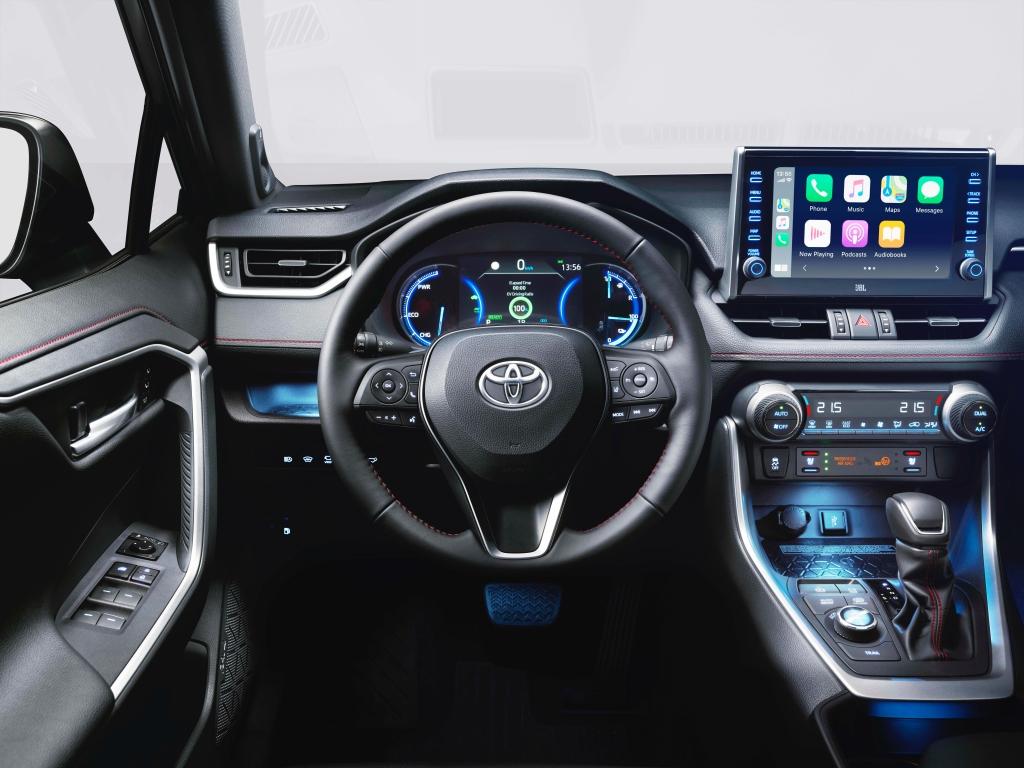 Toyota Rav4 hibrid interior