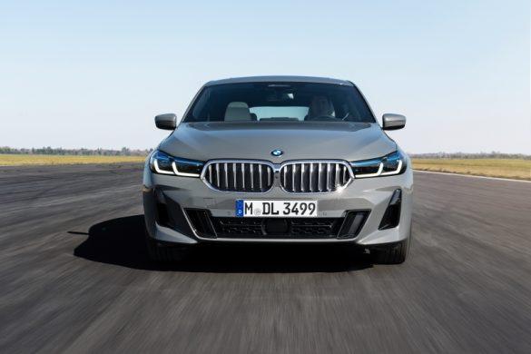 BMW Seria 6 Gran Turismo fata