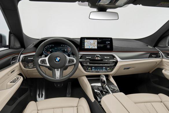 BMW Seria 6 Gran Turismo interior