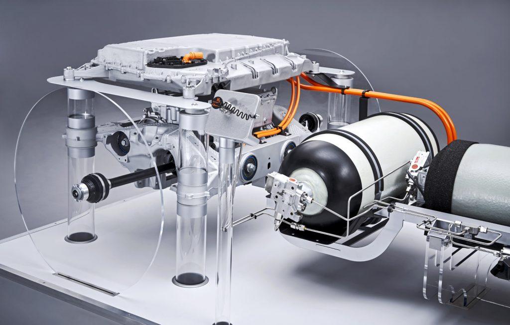 Pile de hidrogen BMW