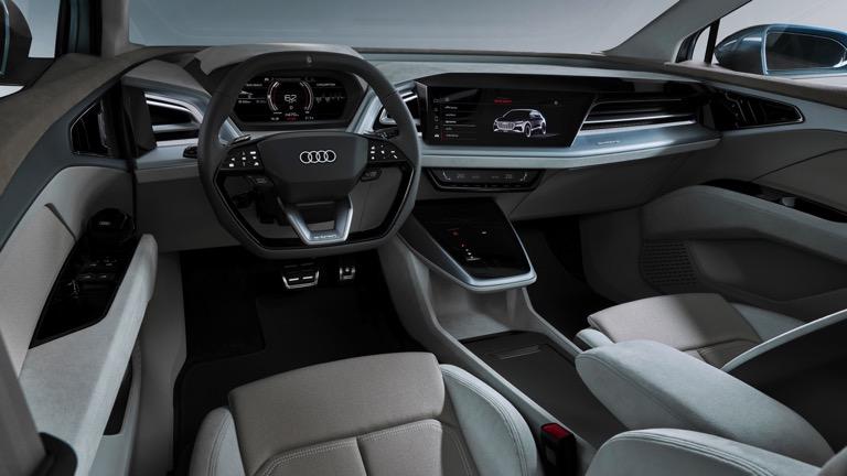 Audi Q4 e-tron inerior