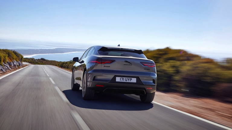 Jaguar i-pace spate