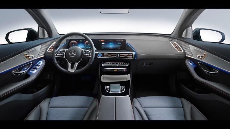 Mercedes EQC bord