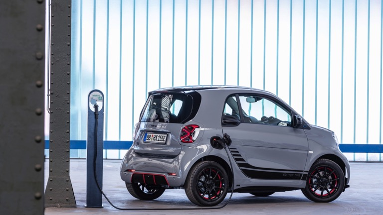 Smart EQ fortwo coupe electric