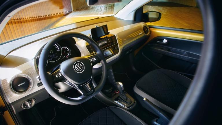 Volkswagen e-Up bord