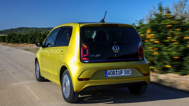 Volkswagen e-Up spate