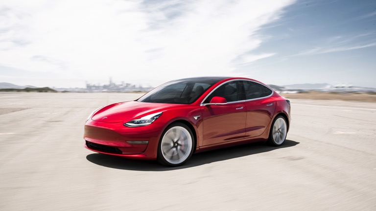 Tesla Model 3 second-hand