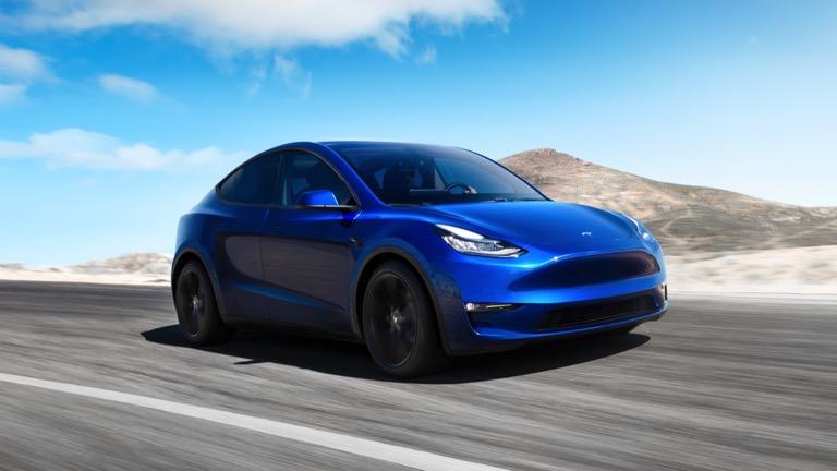 Tesla Model Y fata