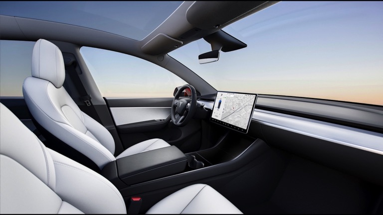 Tesla Model Y interior 2