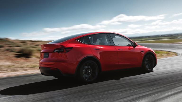Tesla Model Y spate
