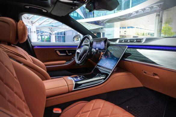 Mercedes-Benz Clasa S bord