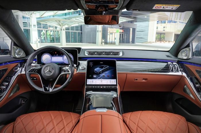 Mercedes Clasa interior