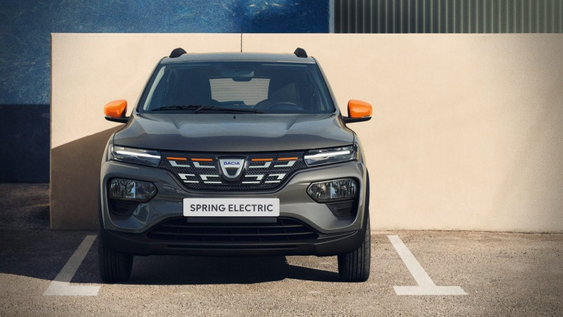 Dacia Spring electric ieftine mașini electrice