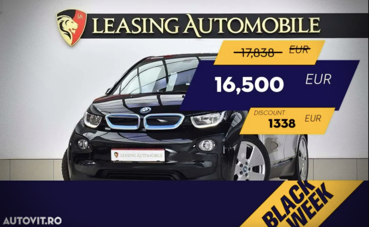 BMW i3 Black Week Autovit.ro