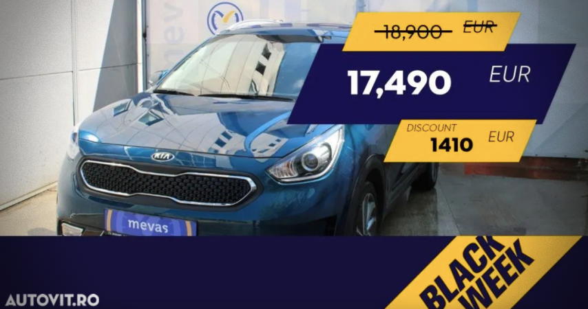 Kia Niro Black Week Autovit.ro