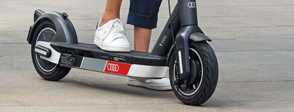 trotineta electrica Audi