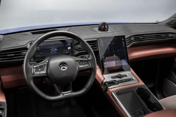 model electric nio interior