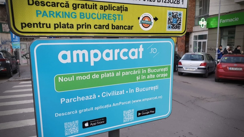 parcare cu plata Bucuresti