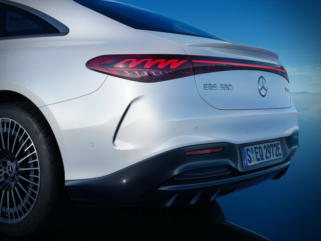 Mercedes full electric